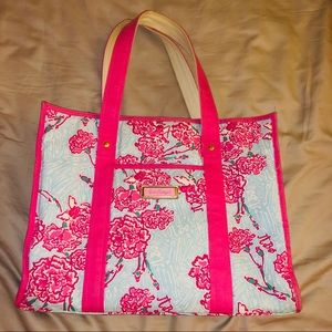 LILLY PULITZER- Pi Beta Phi sorority tote